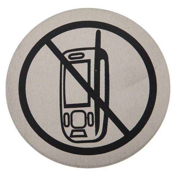 نشان استفاده موبایل ممنوع
