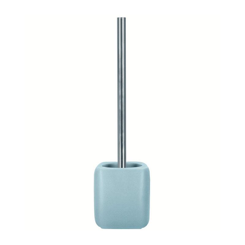 فرچه توالت سرامیک Light Blue Cubic