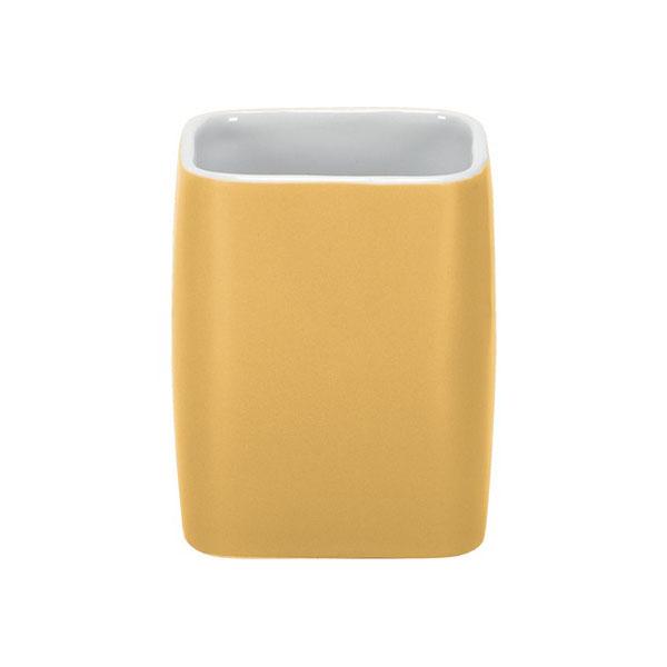 جا مسواکی سرامیک Cubic yellow